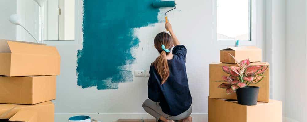 Efectos de los colores de pintura para casa