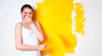 ¿Cómo quitar el olor a pintura de esmalte?