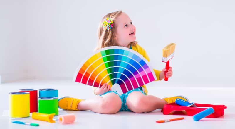 Cuales colores seleccionar para el cuarto de tus hijos