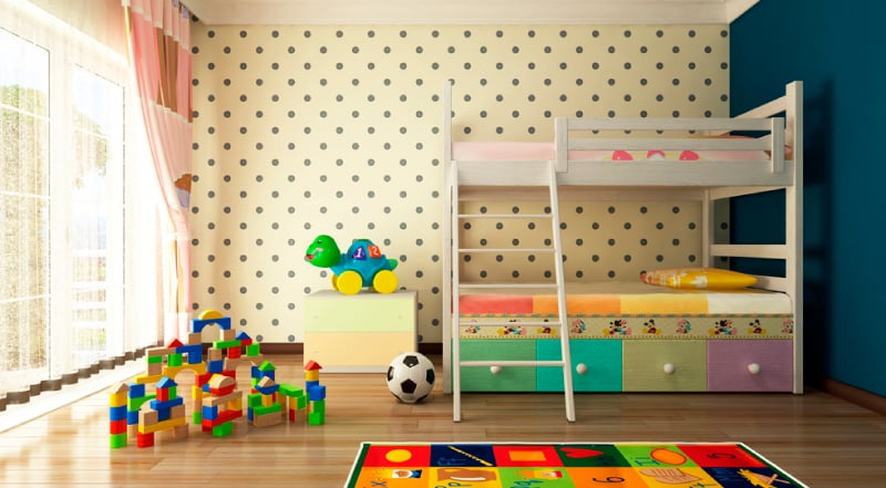 Elementos para decorar el cuarto de tu niño