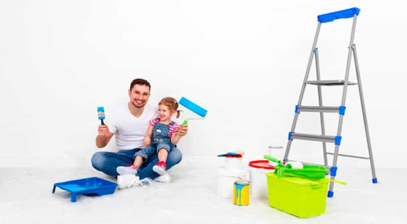 Pinta junto a tu hijo el cuarto
