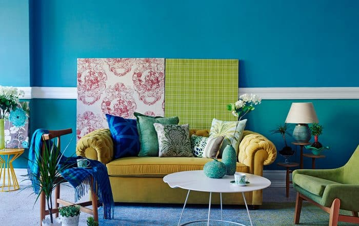 Pintura para paredes: Ideas para decorar las paredes de tu hogar