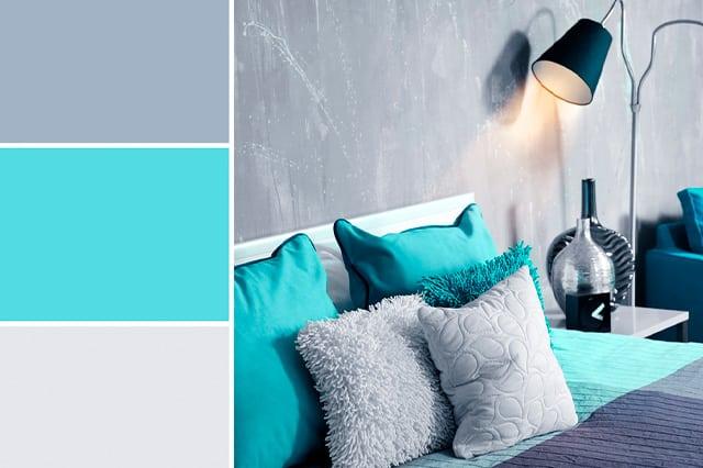 Pintura para paredes y teoría del color