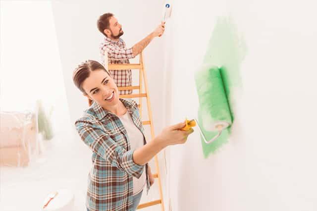 Consejos para pintar las paredes de tu casa y que se vea como un profesional