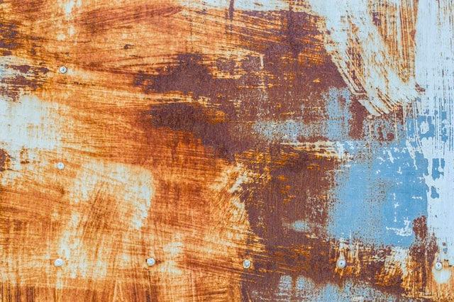 Pasos para pintar superficies oxidadas: