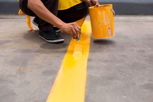 Pintura tráfico: Señalización y demarcación