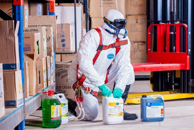 Qué elementos de seguridad debe usar un pintor